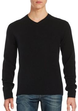 Black & Brown Black Brown V-Neck Sweater