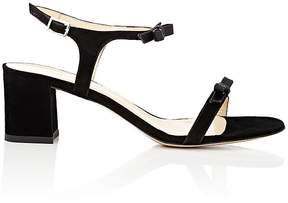Barneys New York Women's Bow-Embellished Suede Sandals