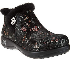 Alegria As Is Water Resistant Leather Ankle Boots - Meri