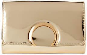 La Regale Gold-Tone Horseshoe Clutch