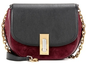 Marc Jacobs West End Jane leather and suede crossbody bag