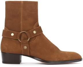 Saint Laurent Buckled Boots