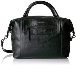 Armani Exchange A|X Faux Leather Satchel
