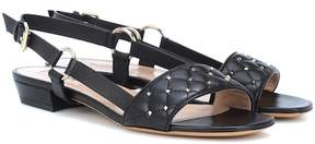 Valentino Rockstud Spike leather sneakers