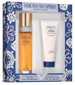 Elizabeth Taylor Sapphires & Diamonds by Women's Fragrance Gift Set - 2pc