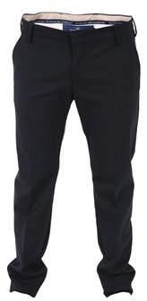 Entre Amis Men's Blue Wool Pants.
