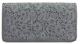 Adrianna Papell Sabrina Lace Convertible Clutch