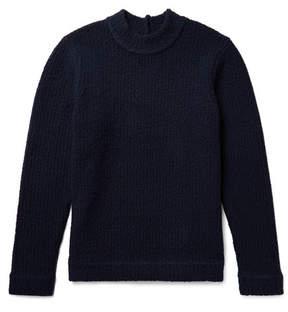 Craig Green Cutout Merino Wool-Blend Bouclé Sweater