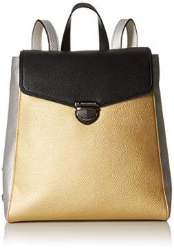 Armani Exchange A X Pebble Faux Leather Backpack