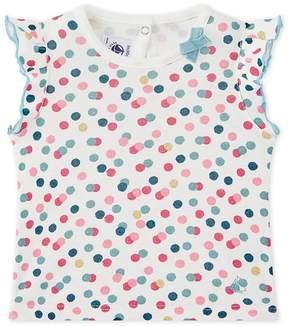 Petit Bateau Baby girl's print T-shirt