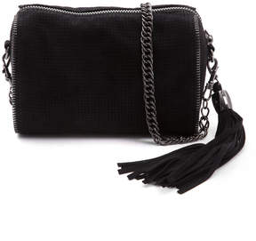 Deux Lux Handbags Perforated Chain Detail Crossbody