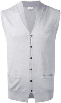 Ballantyne button knit waistcoat
