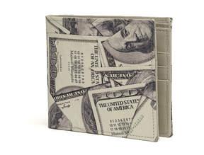 Maison Margiela Dollar print wallet