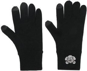 Kenzo Tiger appliqué gloves