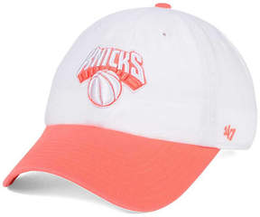 '47 New York Knicks Pastel Rush Clean Up Cap