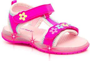 Carter's Girls Chelsea Toddler Light-Up Sandal