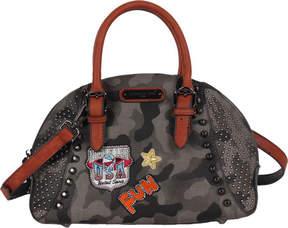 Nicole Lee Laquanna Print Bowler Bag (Women's)