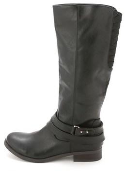Material Girl Women's Levi Knee High Riding Boot.