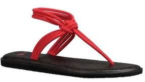 Sanuk Women's Yoga Sunshine Thong Sandal.