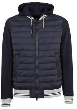 Herno Men's Pc0063u192889292 Blue Polyamide Down Jacket.