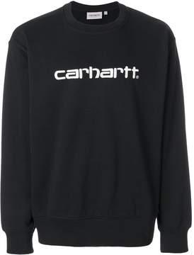 Carhartt logo print sweatshirt