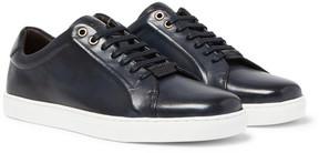 HUGO BOSS Tribute Tenn Leather Sneakers