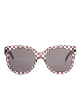 Stella McCartney Cat Eye Trans Orcirrd Brown 2048/73 Sunglasses