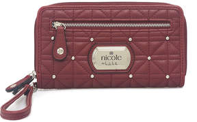 Nicole Miller Nicole By Cara Zip Around Wallet