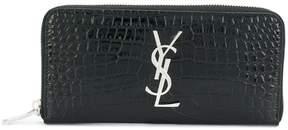 Saint Laurent continental purse - BLACK - STYLE