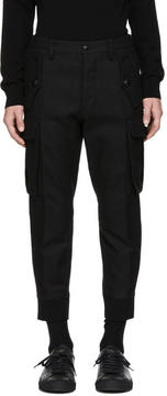 DSQUARED2 Black Military Sexy Cargo Pants