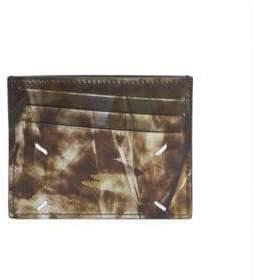 Maison Margiela Printed Leather Card Case