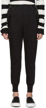 Junya Watanabe Black Suspender Lounge Pants