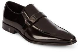 Versace Signature Leather Loafers