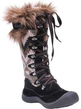 Muk Luks Gwen Tall Lace Up Snow Boot (Women's)