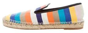 Celine Canvas Striped Espadrilles