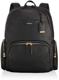 Tumi Calais Pebbled Leather Backpack