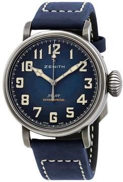 Zenith Pilot Automatic Blue Dial Men's Watch
