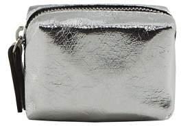 MANGO Metallic purse
