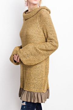 Easel Knitted Sweater Tunic