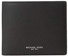 Michael Kors Harrison Billfold Black Wallet - Black - 39F5XHRF1L-001 - BLACK - STYLE