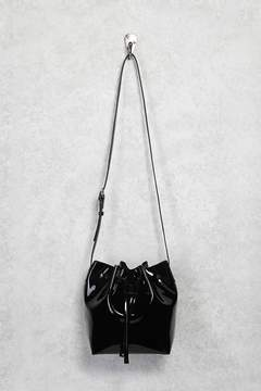 Forever 21 Faux Patent Leather Bucket Bag