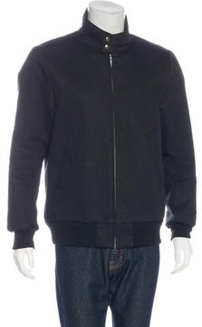 Miharayasuhiro Wool-Trimmed Zip Jacket