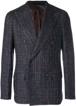 Caruso check jacket