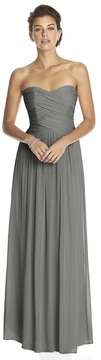 Dessy Collection 2880 Dress in Charcoal Gray