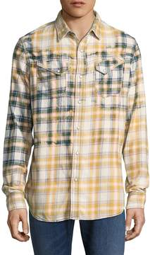 Cult of Individuality Men's Clint Plaid Sportshirt