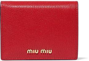 Miu Miu - Textured-leather Wallet