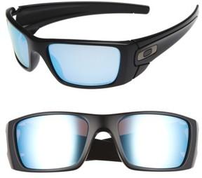 Oakley Men's 'Fuel Cell(TM) Prizm(TM)' 60Mm Polarized Sunglasses - Black