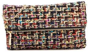 Urban Expressions Erin Woven Tweed Clutch