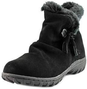 Khombu Isabella Women Round Toe Suede Black Winter Boot.
