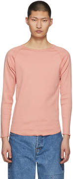 SASQUATCHfabrix. Pink Rib Stitch Sweater